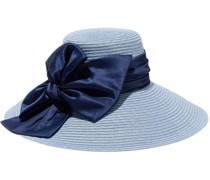 Maribel Bow-embellished Hemp-blend Sunhat