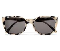 Tokyo D-frame Tortoiseshell Acetate Sunglasses Horn