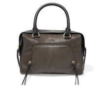 Calf Hair And Leather Tote Lila