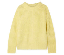 Nora Oversized Ribbed-knit Sweater