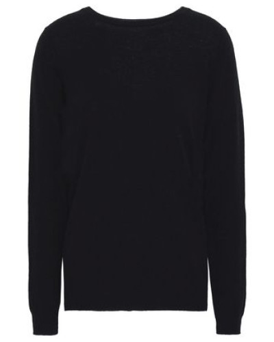 Bow-detailed Cashmere Sweater Black