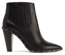 Lieve studded leather ankle boot