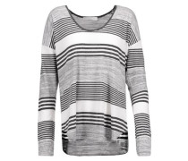 Imogen striped stretch-jersey top