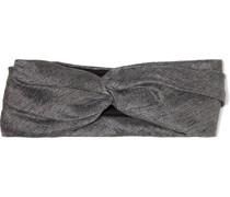 Malia Twisted Lamé Headband