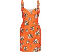 Fyfe Floral-print Cloqué Mini Dress