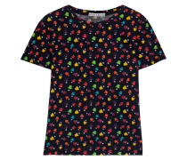 Rylyn Printed Cotton-jersey T-shirt