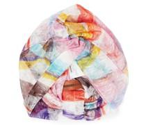 Turban aus Häkelstrick mit Twist-detail