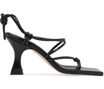 Coco Sandalen aus Leder mit Knotendetail