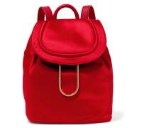 Satin Backpack Rot