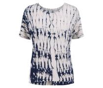 Printed Jersey T-shirt Grau