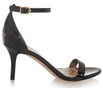 Patti Faux Patent-leather Sandals