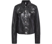 Woman Leather Jacket Black