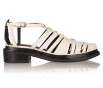 Hayden Leather Sandals Wollweiß