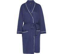 Cortina Cotton-blend Robe Rauchblau