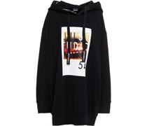 Bedrucktes Oversized-sweatshirt aus Baumwollfrottee