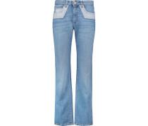 Mid-rise Straight-leg Jeans Heller Denim