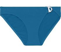 Sharp Buckled Low-rise Bikini Briefs