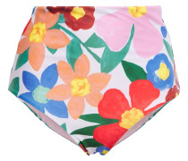 Woman Lydia Floral-print High-rise Bikini Briefs Multicolor