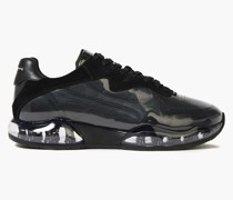 Stadium Leather, Suede, Mesh And Pvc Sneakers