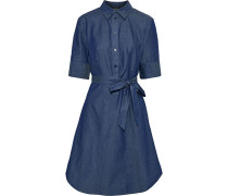 Palmetto Belted Cotton-chambray Dress