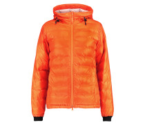 Camp Hooded Quilted Shell Jacket Orange