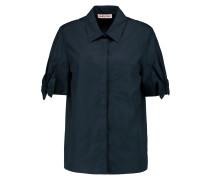 Camicia Cotton-poplin Shirt Mitternachtsblau