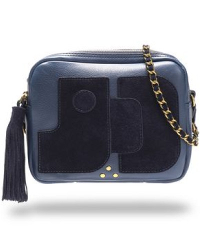 Jérôme Dreyfuss Damen Pascal leather and suede shoulder bag Bequem Online 8GkFVqYk