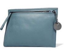Prism leather clutch
