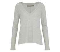 Cotton And Cashmere-blend Top