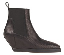 Elaphe Wedge Ankle Boots