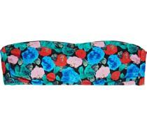 Bella Bandeau-bikini-oberteil mit Floralem Print