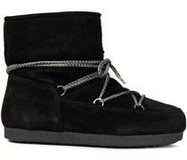 Far Side Jr Lace-up Suede Snow Boots