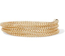Gold-tone wrap bracelet