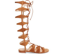Shyla lace-up suede gladiator sandals