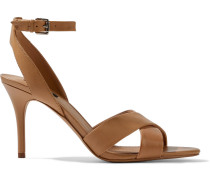 Woman Ivy Leather Sandals Sand