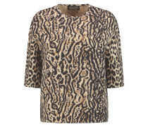 Leopard-print Knitted Sweater Leoparden-Print