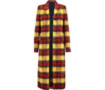 Alexa Checked Wool-blend Coat Mehrfarbig
