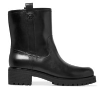 Foster Leather Boots Schwarz