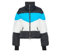 Edwina Color-block Quilted Shell Jacket