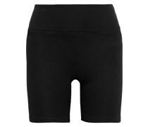 Cotton-blend Mesh Shorts