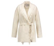 Cauley Cotton-tweed Coat Ecru
