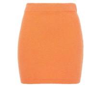 Organic Cotton-blend Terry Mini Skirt