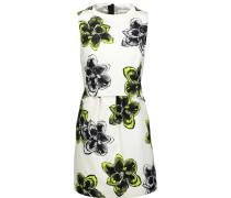 Astrid Floral-print Cotton-blend Mini Dress Wollweiß