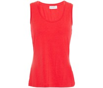 Clara Stretch-tencel And Cotton-blend Jersey Tank
