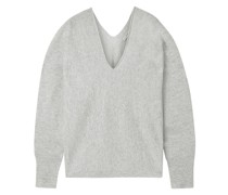 Cashmere And Linen-blend Sweater