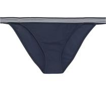 Meridian Striped Low-rise Bikini Briefs