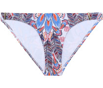 Martinique Printed Low-rise Bikini Briefs