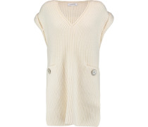 Wool And Cashmere-blend Sweater Creme