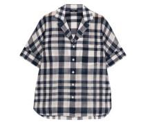 Ralfinn plaid cotton-voile shirt