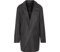 Garner Wool Coat Schiefer